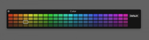 Logic Pro X - Colour Picker