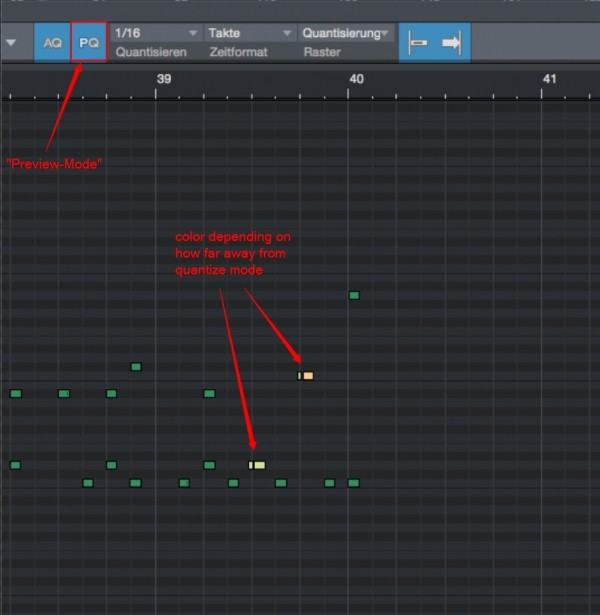 Preview for Quantization - Questions & Answers | PreSonus
