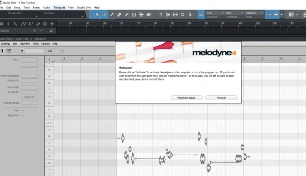 Help!! - Melodyne Activation