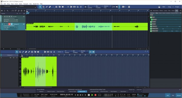 The ability to mark recordings while recordings are taking place