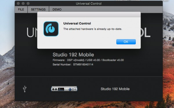 Is there anyway to force firmware update on the Studio