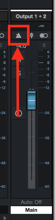 Studio One Metronome Toggle