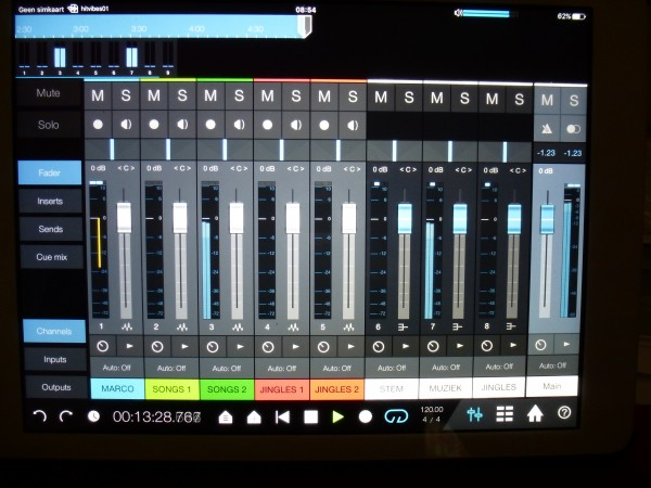 iPad version Studio One Remote