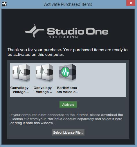 Presonus studio one sound sets download free
