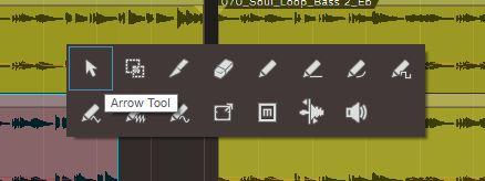 toolbar quick menue: mouse wheel click