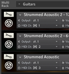 Kontakt 5 Instrument Rack with many Instruments does not